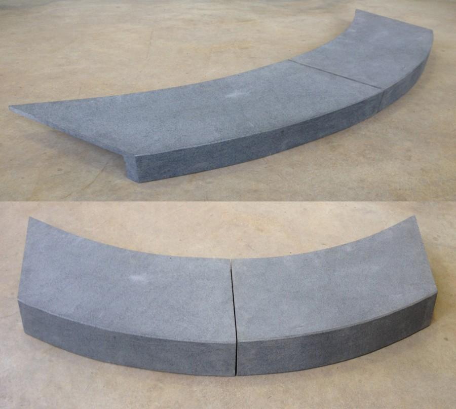 Bluestone Curved Pool Coping