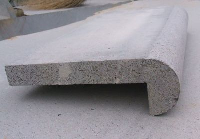 Bluestone Rebated Bullnose Coping Tile