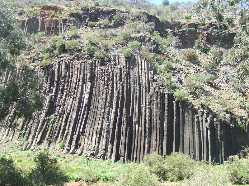 Basalt Column formation