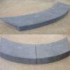 Bluestone Rebated Curved Pool Coping Tile