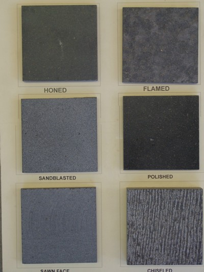 Bluestone Pavers Surface Finishes