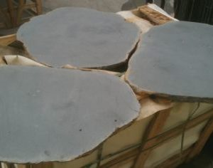 harkaway bluestone sawn and lightly honed Basalt Stepping Stones