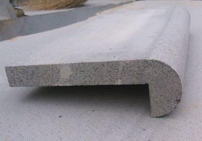 harkaway bluestone sawn and lightly honed rebate Pool Coping Tiles