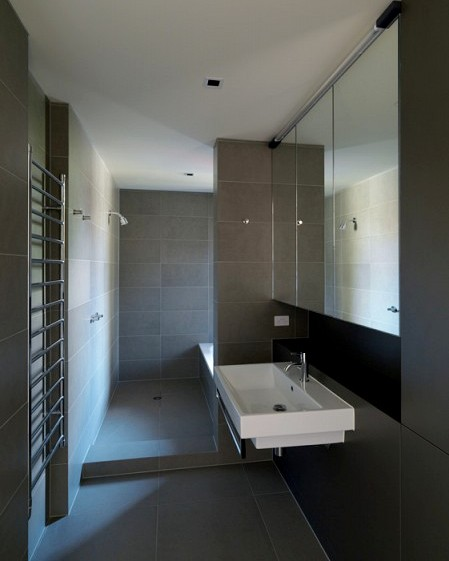 honed Bluestone Tiles bathroom tiles
