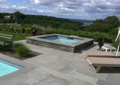 Bluestone Ashlar External Pool Paving