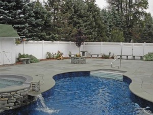 Bluestone Pool Paving and Pool Coping Tiles