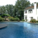 Curved Bluestone Pool Coping Tiles
