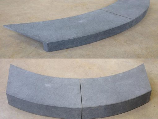 Bluestone Curved Pool Coping