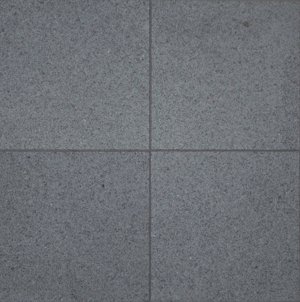 RAVEN GREY EXFOLIATED FLAMED GRANITE PAVERS
