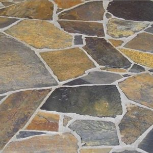 South Australian Barossa Gold crazy paving