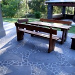 harkaway bluestone sawn and lightly honed crazy paving