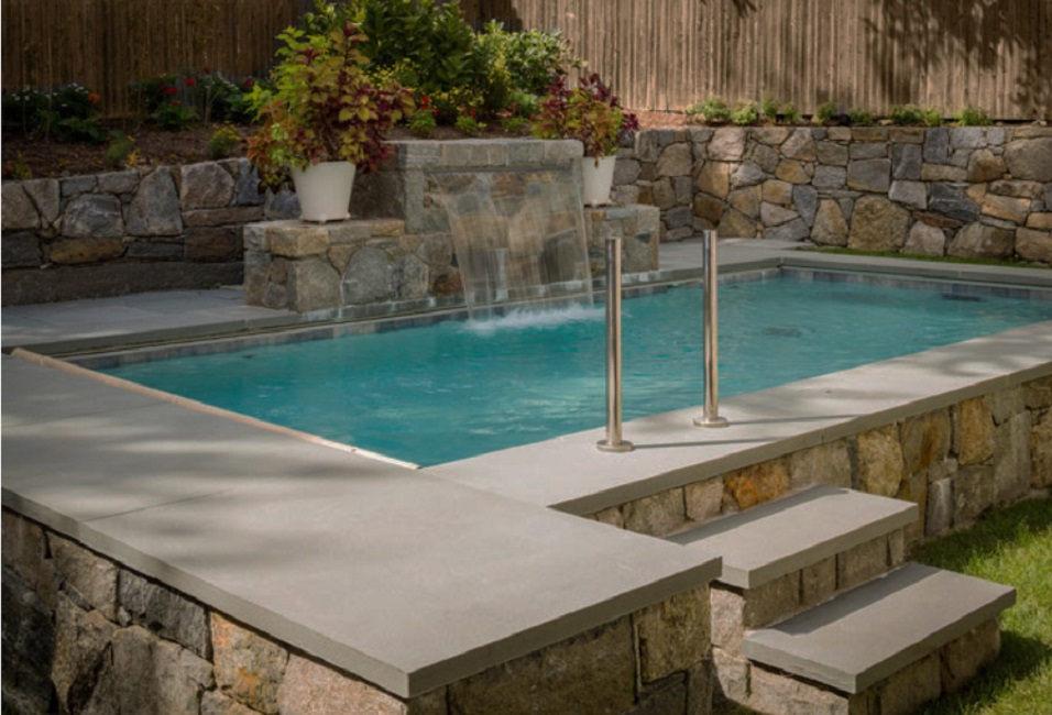 Natural Stone Pool Coping Pictures
