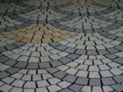 harkaway bluestone sawn and lightly honed fan pattern Cobblestone Pavers