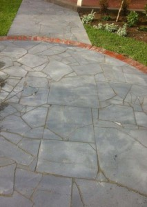 Bluestone Offcut Crazy Paving
