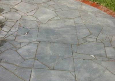 Bluestone Crazy Paving off cut material