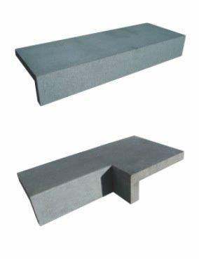 Bluestone rebated pool coping tiles Internal or External pool coping tiles