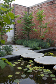 bluestone sawn and lightly honed stepping stones