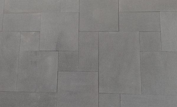 Harkaway Bluestone sawn and lightly honed French Pattern Pavers