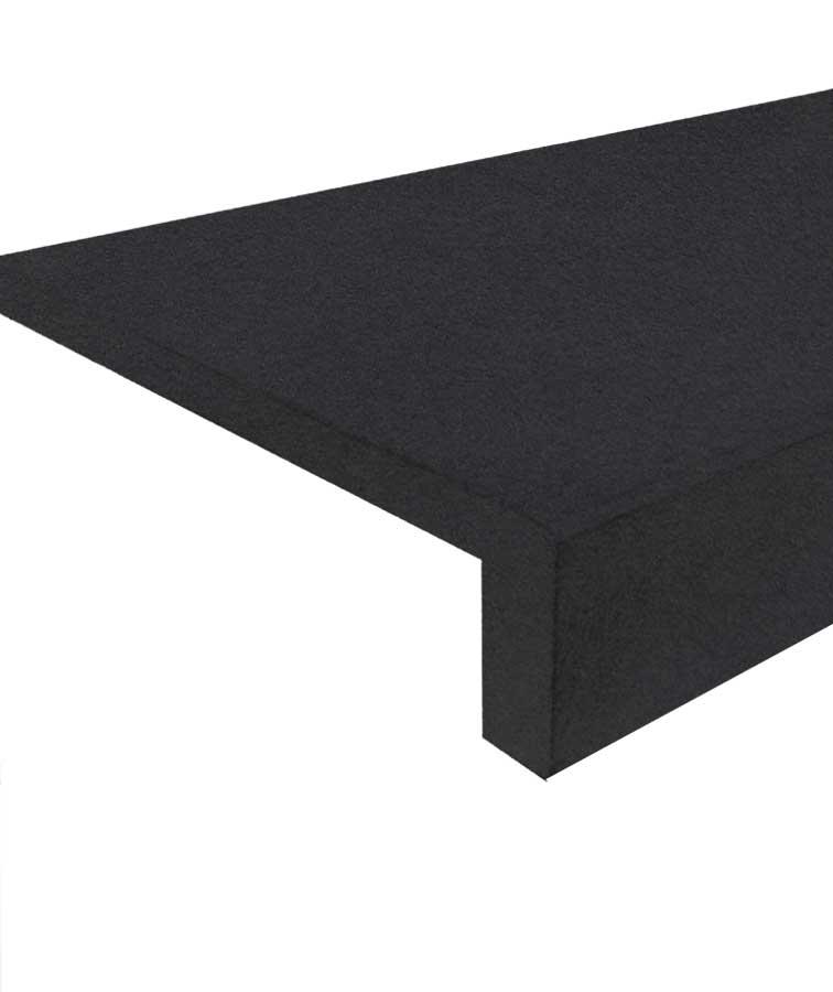 Black pool coping brisbane pavers dark grey paving concrete