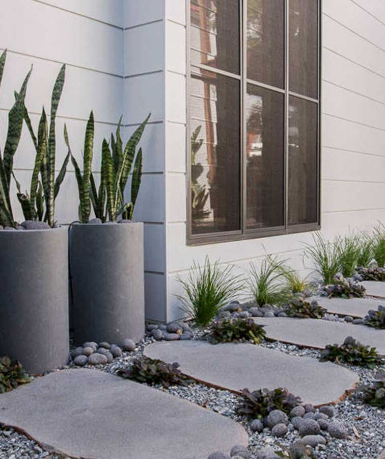 Bluestone Garden Stepping Stones