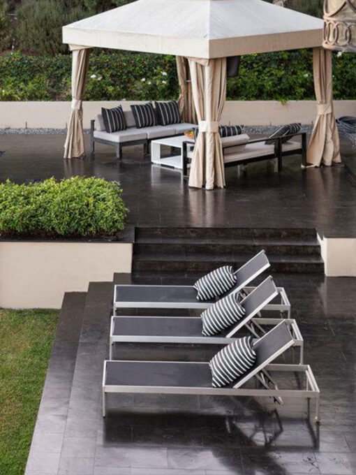 Black Pool tiles & pavers melbourne dark paving