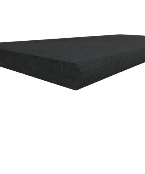 Midnight Bluestone Pool Coping Black Tiles Bullnose