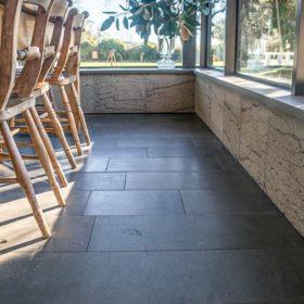 Sealing Bluestone pavers cheap tiles black
