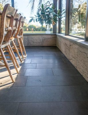 Sealing Bluestone pavers cheap tiles black
