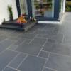 Black Limestone french pattern tiles